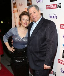 Alyssa Milano - Modell's Super Bowl Kickoff Party in NYC 1/30/14