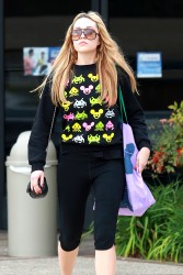 Amanda Bynes - at the gym in LA 1/30/14