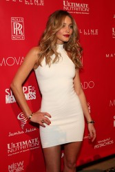 Hannah Davis - 2014 Shape & Men's Fitness Super Bowl Party in NYC 1/31/14