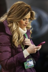 Erin Andrews - at Super Bowl XLVIII in NJ 2/2/14
