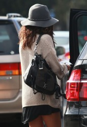 Selena Gomez Out in L.A. - 2/2/14