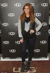 Maria Menounos - UGG Warming Station in NY 2/1/14