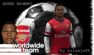 Download Serge Gnabry Face by krisaju95