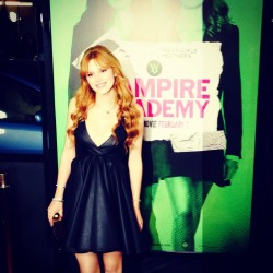 Bella Thorne - Vampire Academy premiere in LA 2/4/14