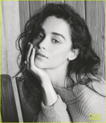 Emilia Clarke - WSJ Magazine March 2014