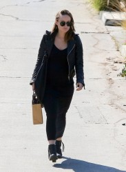 Olivia Wilde - Out in Los Feliz 2/5/14