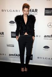 Jessica Hart - 2014 amfAR New York Gala 2/5/14