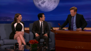 Lauren Cohan & Danai Gurira @ Conan | February 6 2014
