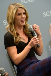 Emily Bett Rickards - SCAD presents aTVfest in Atlanta 2/7/14