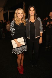 Carrie Underwood - Rebecca Minkoff F/W Fashion Show in NYC 2/7/14