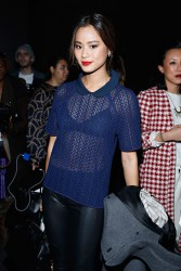 Jamie Chung - Charlotte Ronson F/W 2014 Fashion Show in NYC 2/7/14
