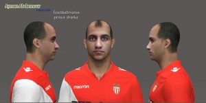 Download Aymen Abdennour Face by Shieka For PES 2014