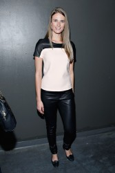 Julie Henderson - Charlotte Ronson fashion show in NYC 2/7/14
