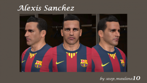 Download Alexis Sanchez Face by asep_ maulana10