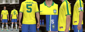 Download Brasil 1997 Copa America Home Kit by Olmajti