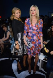 Paris & Nicky Hilton - Diane Von Furstenberg F/W 2014 Fashion Show in NYC 2/9/14