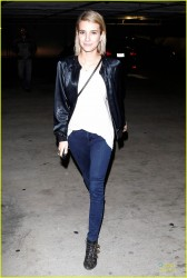 Emma Roberts - Leaving 'The Largo' in LA 2/9/14