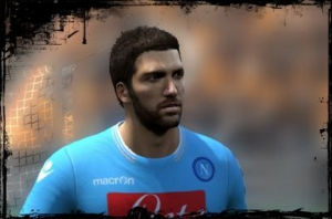 Download Gonzalo Higuain Face [ Texture By a_nuk3 ]