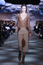 Kendall Jenner Walking the Runway at the Marc Jacobs Fall 2014 fashion show 2/13/14