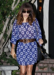 Eva Longoria - Leaving The Ken Paves Salon in West Hollywood 2/13/14