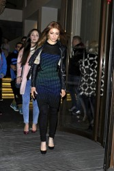 Nicola Roberts - at London Fashion Week 2/14/14