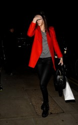 Kendall Jenner - Arriving to her hotel in London 2/17/14