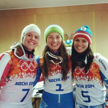 Tina Maze - Anna Fenninger - Viktoria Rebensburg - Giant Slalom Sochi x 1