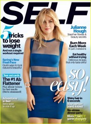 Julianne Hough - Self Magazine March 2014
