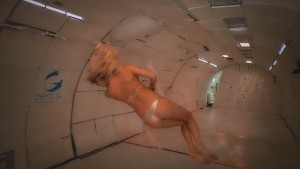 Kate Upton in Zero Gravity