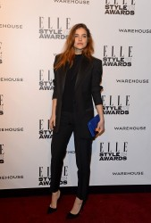 Barbara Palvin - 2014 ELLE Style Awards in London 2/18/14