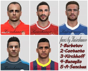Download PES 2014 Faces by Kairzhanov [19.02]