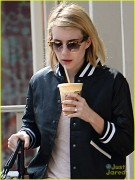 Emma Roberts - Out getting coffee 2/18/14