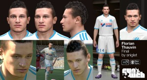Download PES 2014 Florian Thauvin Face by sniglet