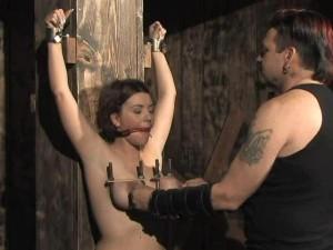 50s Bdsm - File Name : Alisha Angel Interview, Standing - Undressed, Vibed bondage,  bdsm, sex bondage, porn bondage, porn bondage, self-bondage. Runtime : 14mn  50s
