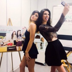 Kendall Jenner and Kylie Jenner at Nordstrom in Glendale on February 22, 2014