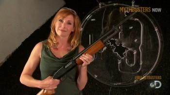 Kari Byron | Mythbusters Bullet Baloney | HDcaps | 22/2/14