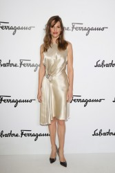 Hilary Swank - Salvatore Ferragamo 2014 Fashion Show in Milan 2/23/14