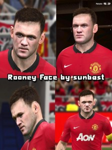 Download Wayne Rooney Face by sunbast