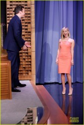 Reese Witherspoon - On the 'Tonight Show with Jimmy Fallon' in NYC 2/24/14