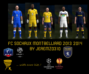 Download FC Sochaux 2013-2014 Kits by jeremz0310
