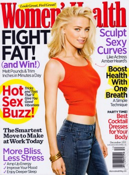 Amber Heard Women's Health Mag Dec '11 HQ's