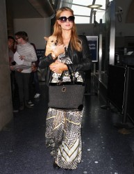 Paris Hilton - At LAX Airport 2/25/14