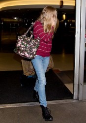 Amanda Seyfried - At LAX Airport 2/25/14