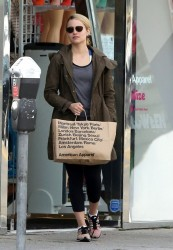 Dianna Agron - Shopping in West Hollywood 2/27/14