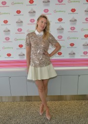 Maria Sharapova - unveils Sugarpova Toppings in LA 2/27/14
