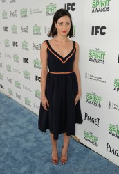 Aubrey Plaza - 2014 Film Independent Spirit Awards in Santa Monica 3/1/14