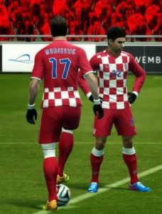Download PES 2013 Croatia 2014 WC Home Kit by Yazid Louasli