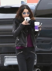 Vanessa Hudgens - Getting coffee in Studio City 3/2/14