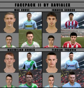 Download FIFA 14 Facepack II by Xavialex