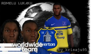 Download Romelu Lukaku Face by krisaju95